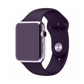 Apple Watch 42mm Sportband-Blåsvart