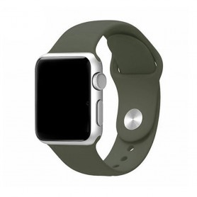 Apple Watch 42mm Sportband- Olivgrön