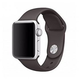 Apple Watch 42mm Sportband- Gråbrun