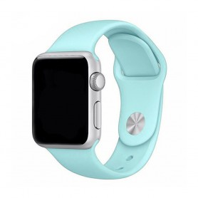 Apple Watch armband 38mm Sportband- Babyblå