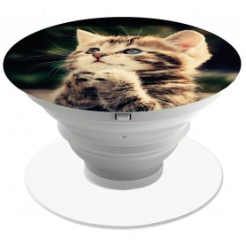 Popsocket - Mobilhållare Cute Cat