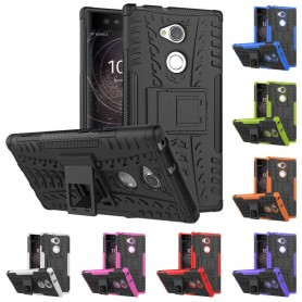 Mobilskal Stöttåligt silikon skal med ställ Sony Xperia XA2 Ultra
