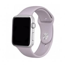 Apple Watch 38mm Sportband-Grålila