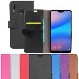 Mobilplånbok 2-kort Huawei P20 Lite fodral skydd mobilskal