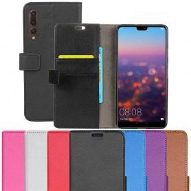 Mobilplånbok 2-kort Huawei P20 Pro mobilskal skydd väska