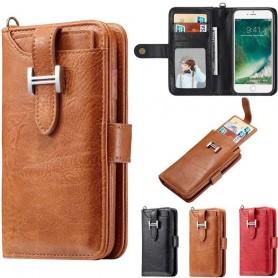 Multiplånbok 3i1 9-kort Apple iPhone 7 / 8 mobilskal fodral skydd