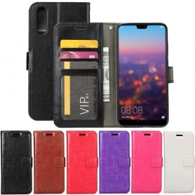 Mobilplånbok 3-kort Huawei P20 Pro mobilskal fodral väska CaseOnline