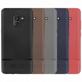 Rugged Armor TPU skal Samsung Galaxy A8 2018 mobilskal