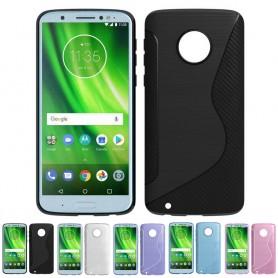 S Line silikon skal Motorola Moto G6 mobilskal caseonline