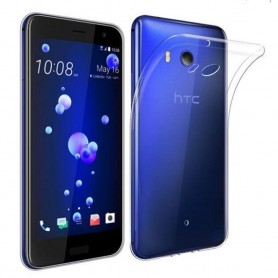 HTC U11 Life Silikon skal Transparent mobilskal tpu