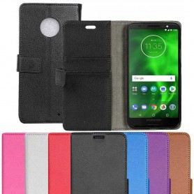 Mobilplånbok 2-kort Motorola Moto G6 Plus mobilskal fodral