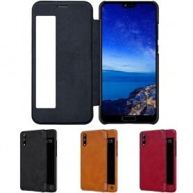Nillkin Qin FlipCover Huawei P20 EML-L29 fodral mobilskal skydd caseonline