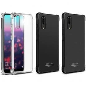 IMAK Shockproof silikon skal Huawei P20 EML-L29 mobilskal