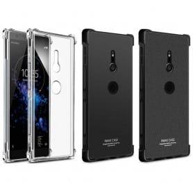 IMAK Shockproof silikon skal Sony Xperia XZ2 H8266 mobilskal fodral skydd