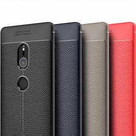 Läder mönstrat TPU skal Sony Xperia XZ2 mobilskal caseonline