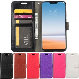 Mobilplånbok 3-kort LG G7 ThinQ mobilskal fodral skydd