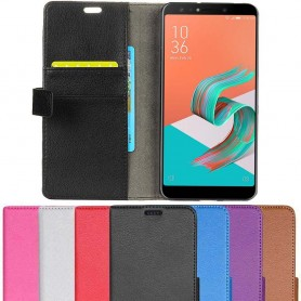 Mobilplånbok 2-kort Asus Zenfone 5 Lite ZC600KL mobilskal fodral caseonline