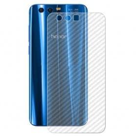 Kolfiber Skin Skyddsplast Huawei Honor 9 STF-L09 mobilskydd caseonline