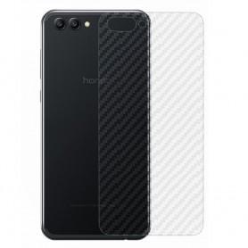 Kolfiber Skin Skyddsplast Huawei View 10 mobilskydd caseonline