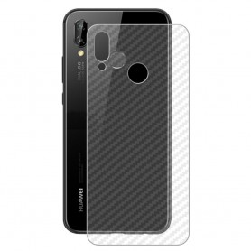 Kolfiber Skin Skyddsplast Huawei P20 Lite ANE-LX1 mobilskydd caseonline