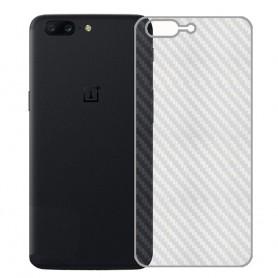 Kolfiber Skin Skyddsplast OnePlus 5 mobilskydd caseonline