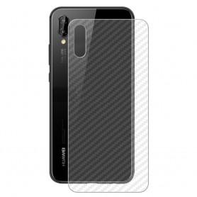 Kolfiber Skin Skyddsplast Huawei P20 mobilskydd