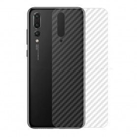 Kolfiber Skin Skyddsplast Huawei P20 Pro mobilskydd caseonline