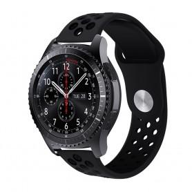 EBN Sport Armband Samsung Gear S3 svart caseonline silikon