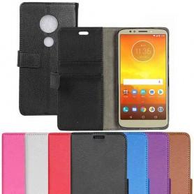 Mobilplånbok 2-kort Motorola Moto E5 plus fodral väska caseonline