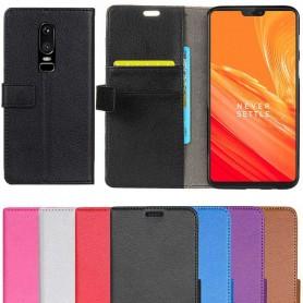 Mobilplånbok 2-kort OnePlus 6 (A6000)