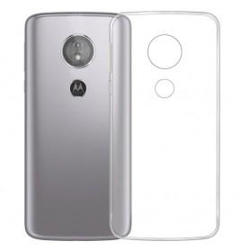 Silikon skal Transparent Motorola Moto E5 mobilskal