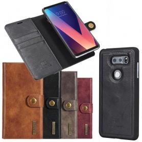 Mobilplånbok Magnetisk DG Ming LG V30 mobilskal fodral avtagbar