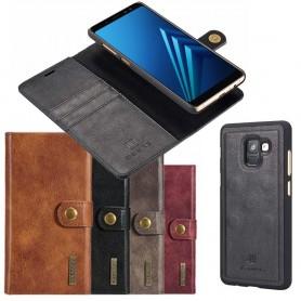 Mobilplånbok Magnetisk DG Ming Samsung Galaxy A8 2018 mobilskal fodral
