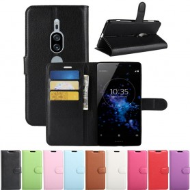 Mobilplånbok 3-kort Sony Xperia XZ2 Premium