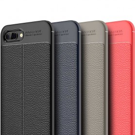 Läder mönstrat TPU skal Huawei Honor 10 mobilskal skydd caseonline