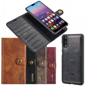 Mobilplånbok Magnetisk DG Ming Huawei P20 avtagbart mobilskal fodral