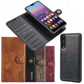 Mobilplånbok Magnetisk DG Ming Huawei P20 Pro avtagbart mobilskal fodral