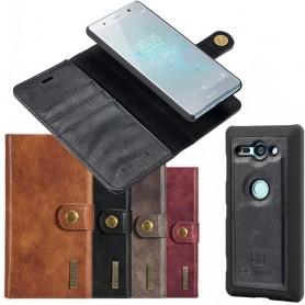 Mobilplånbok Magnetisk DG Ming Sony Xperia XZ2 Compact mobilskal fodral
