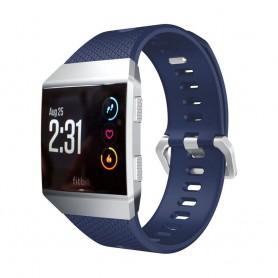 Sport Armband Fitbit Ionic Mörkblå L sportarmband smartwatch