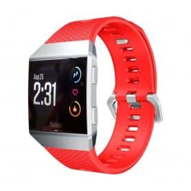 Sport Armband Fitbit Ionic Röd L silikon armband