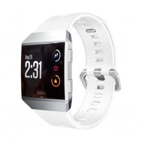 Sport Armband Fitbit Ionic Vit L silikon