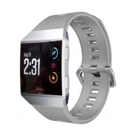 Sport Armband Fitbit Ionic Grå Small silikon