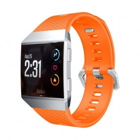 Sport Armband Fitbit Ionic Orange Small silikon