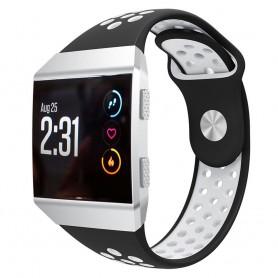 EBN Sport Armband Fitbit Ionic Svart-Vit