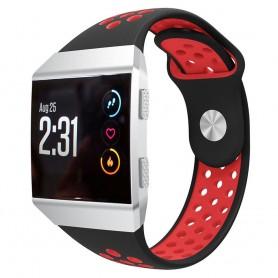 EBN Sport Armband Fitbit Ionic Svart-Röd