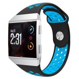 EBN Sport Armband Fitbit Ionic Svart-Blå