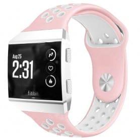 EBN Sport Armband Fitbit Ionic Rosa-vit