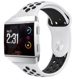 EBN Sport Armband Fitbit Ionic Vit-Svart