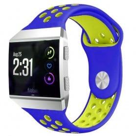 EBN Sport Armband Fitbit Ionic Blå-Gul