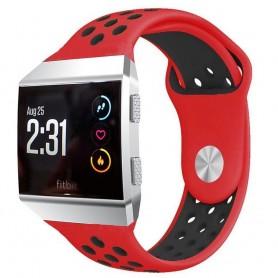 EBN Sport Armband Fitbit Ionic Röd-Svart